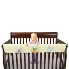 Buy Buy Baby Convertible Crib Leachco Easy Teether Large Convertible Crib Rail Cover
