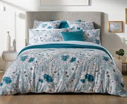 catch com au sheridan anscombe king bed quilt cover set aquamarine