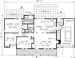 farmhouse style house plan 3 beds 2 00 baths 1232 sq ft plan 3 109