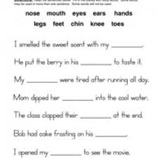 animal body parts worksheets for grade 1 1st grade science