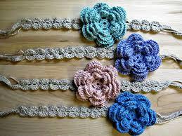 flowers for headbands how to make crochet flowers for headbands crochet and knit