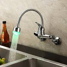 wall mount kitchen sink faucet best wall mount kitchen faucet modern kitchen 2017