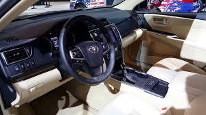 toyota camry 2017 interior 2016 toyota camry xle interior walkaround price site toyota cars