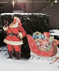 mike makes a u bild santa and reindeer lawn display from scratch