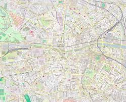 Dublin Ireland Map Street Map Of Dublin Ireland