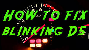 2001 honda accord tcs and check engine light how to fix your acura honda d5 blinking light diy for under 2