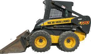new holland l140 l150 l160 l170 skid steer loader factory