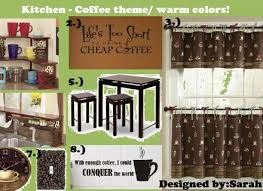 Coffee Themed Curtains Coffee Kitchen Decor Walmart Coffee Valance Coffee Curtains For