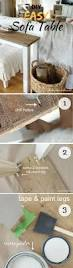 How To Decorate A Side Table by Best 20 Diy Sofa Table Ideas On Pinterest Diy Living Room Diy