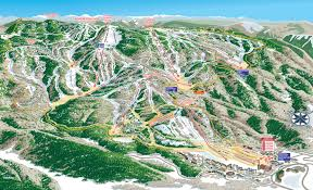 Ski Resorts In Colorado Map by Steamboat Ski Resort Skimap Org