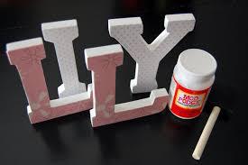 utah county mom diy nursery wooden wall letters