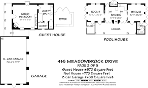 Square Feet Of 3 Car Garage by 416 Meadowbrook Dr Montecito California 93108 17 820 Village