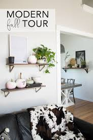modern fall home tour 2017 pink for fall my breezy room