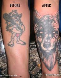 wolf cover up artists org