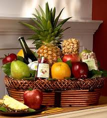 gourmet fruit baskets bountiful fruit gourmet gift basket large the clover pinboard