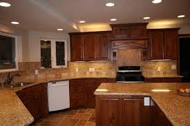 elegant classic cherry kitchen cabinets light cabinets l shaped