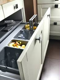 poubelle pour meuble de cuisine poubelle pour meuble de cuisine perene bontempi with poubelle