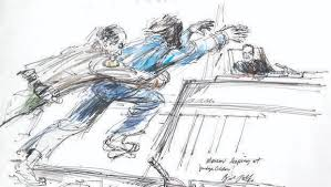 courtroom sketch artists documenting history where cameras aren u0027t
