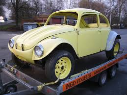 yellow baja bug thesamba com hbb off road view topic wide eyed baja bug in