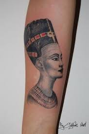 queen nefertari tattoo a drawing of nefertiti by adriana dolnikova on instagram right side