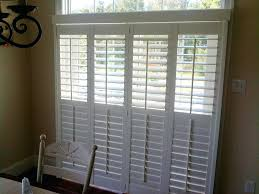 Sliding Shutters For Patio Doors Shutters On Patio Door Exterior Sliding Doors Plantation Shutters