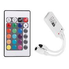 dc 5 28v wifi controller music control for rgb rgbw led strip
