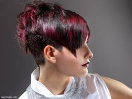hair cut back of hair shorter than front of hair very short hairstyle with a back that is longer than the front