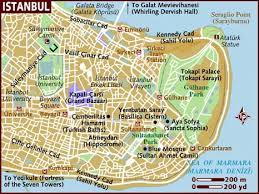 istanbul turkey map map of istanbul