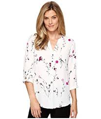 ivanka blouse amazon com ivanka womens ditsy floral georgette blouse