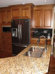 Maple Cabinet Kitchen Ideas by Hampton Kitchen Cabinets Medium Maple Five Star Photo Gallery