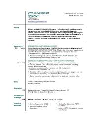 Sample Resume For First Job No Experience by Sample Resume Registered Nurse No Experience Platinum Nursing