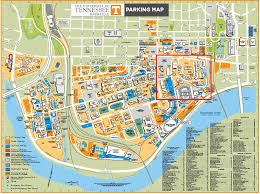 Knoxville Tennessee Map by University Of Tennessee Campus Map Wisconsin Map