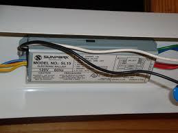 replacing kitchen fluorescent light fluorescent lighting fluorescent lights ballast replacement chart