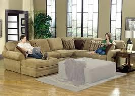 Modular Leather Sectional Sofa Sectional Modular Leather And Microfiber Sectional By Sofa Trend