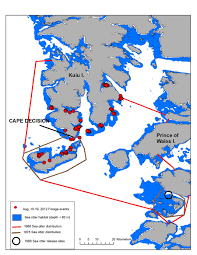 Southeast Alaska Map The Southern Southeast Alaska Sea Otter Project Research