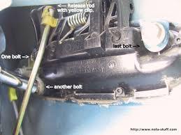 Toyota Tacoma Exterior Door Handle Diy How To Replace A Broken Outside Door Handle Toyota Nation