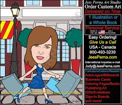real estate agent caricature cartoon business card illustrator