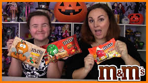 halloween m m candy halloween fall m u0026 m s blind taste testing candy corn pumpkin