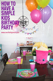 Kids Birthday Decorations At Home by Simple Kids Birthday Decorations
