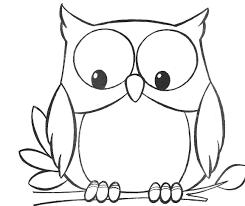 coloriage hibou les beaux dessins de animaux à imprimer et colorier