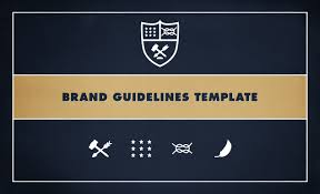 brand guidelines template by go media