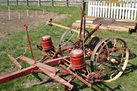 2 Row Corn Planter by In The Fields Living History Farms