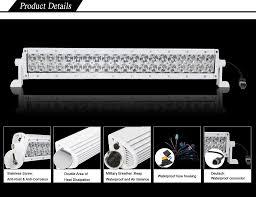 Waterproof Led Light Bar 12v by Black Oak Led 50 Inch Double Row Marine Led Light Review