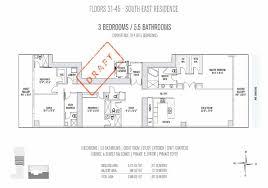 orange grove residences floor plan elysee miami condos floor plan for floors 31 45 se residences