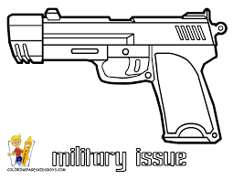 awesome gun coloring pages 18 with additional coloring print with