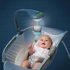 Soothing Vibe Amazon Com Ingenuity Soothing Light Rocking Sleeper Vesper Baby