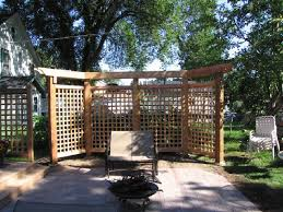 Arbors And Pergolas lattice panels and pergola outdoor ideas pinterest privacy