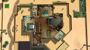 the sims 3 house floor plans sims 3 california mansion floor plans