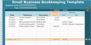 Small Business Bookkeeping Template Excel Small Business Bookkeeping Template Spreadsheet Spreadsheettemple