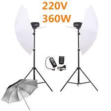cheap umbrella lighting kit godox k 180a photography flash lighting kits 360w strobe light